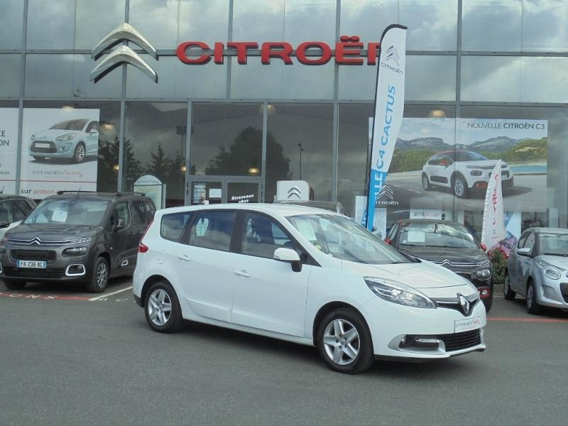 Renault Grand Scenic 1.5 dCi 110ch energy Business eco² 7 places Diesel Blanc Occasion à vendre