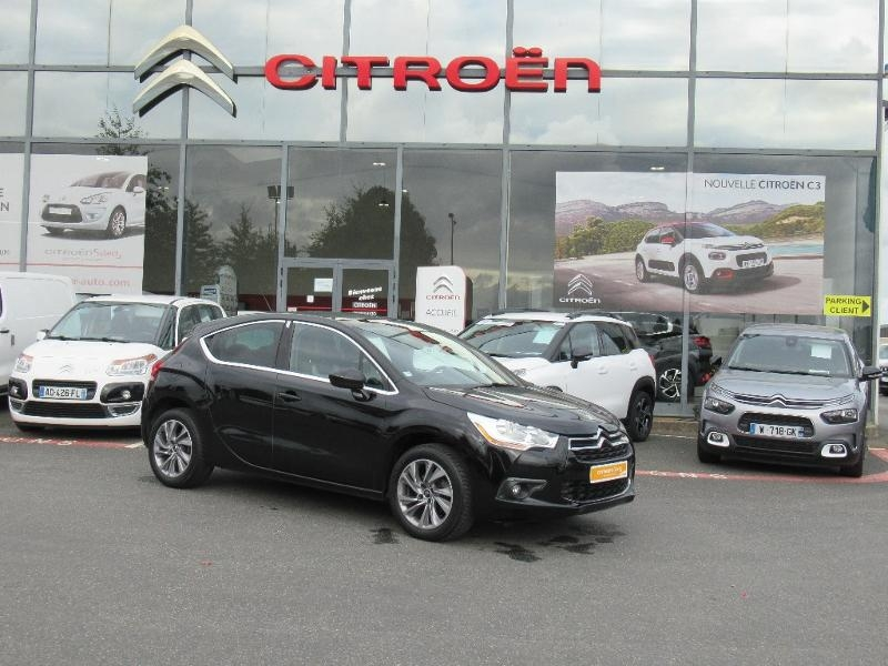 Citroen DS4 1.6 e-HDi115 Airdream So Chic ETG6 Diesel noir Occasion à vendre