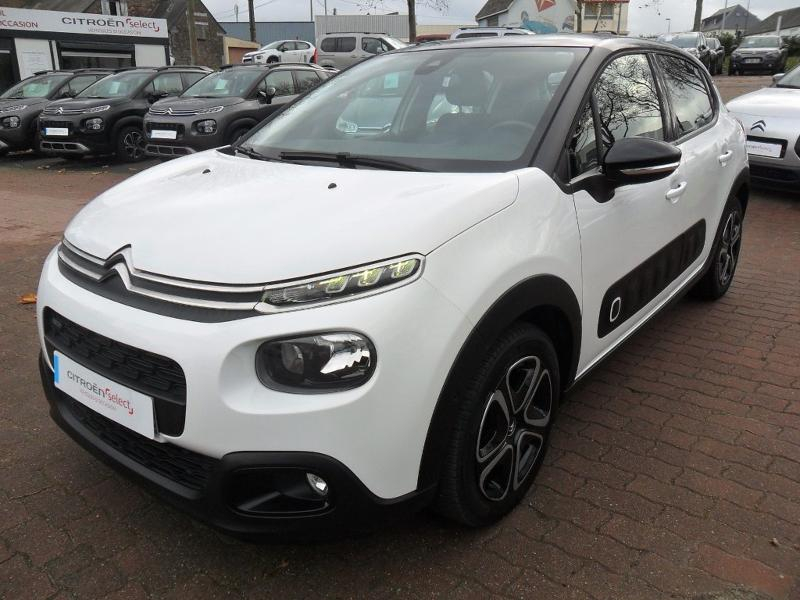 Citroen C3 PureTech 82ch Shine Business Essence Blanc Occasion à vendre